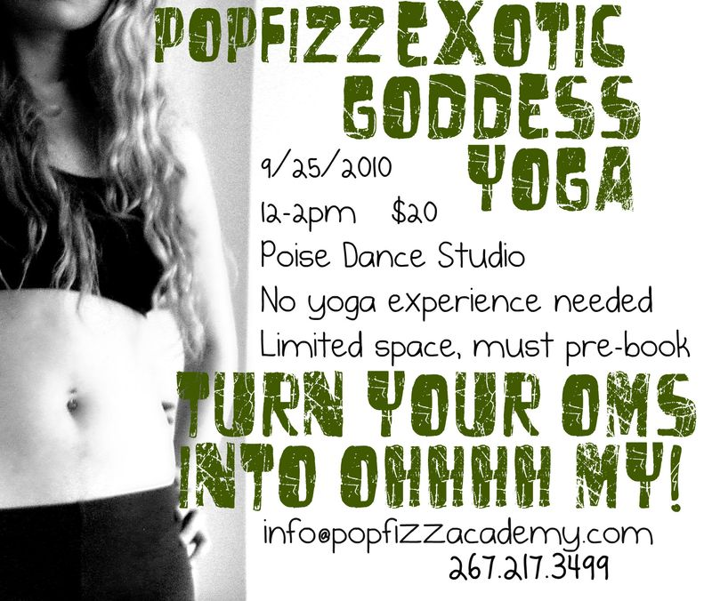 Exotic goddess yoga